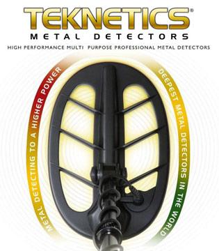 Détecteur de métaux Teknetics