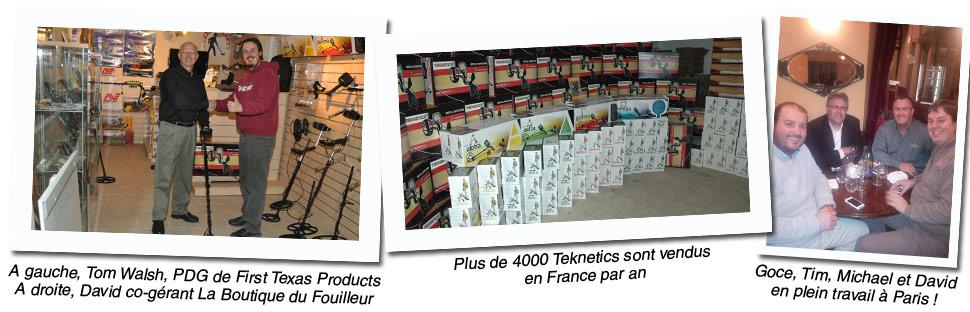 Détecteurs de métaux Teknetics Europe