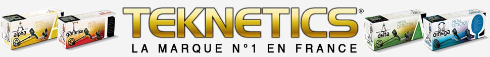 Vente de détecteurs de métaux Teknetics en France et Belgique