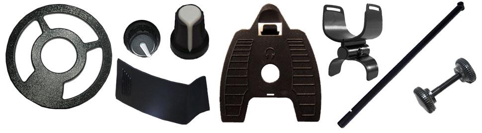 pieces détachées pour détecteurs Teknetics