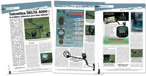 test et avis detecteur teknetics delta 4000