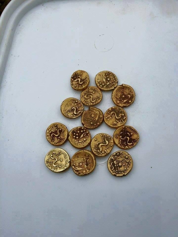 Gold coins metal detector teknetics england