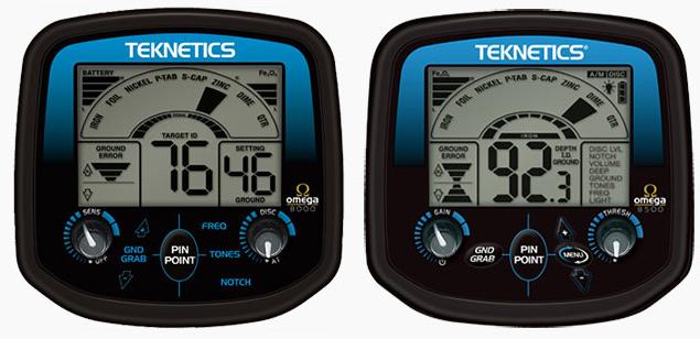 teknetics omega 8500 detecteur omega 8000
